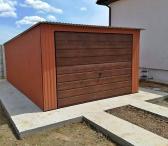 Nauji skardiniai garažai, metaliniai garažai, angarai, voljerai, sandėliukai-0