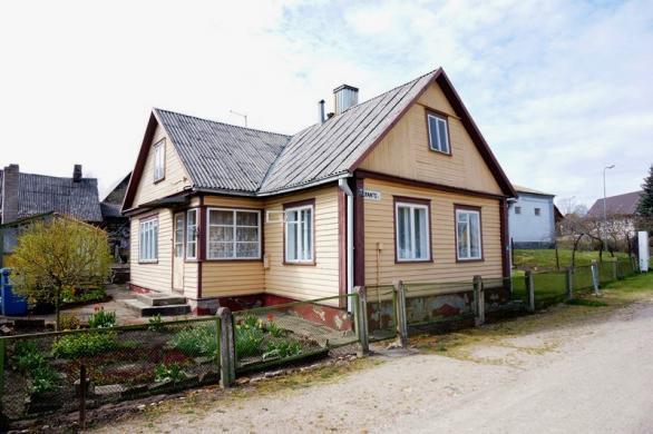 Parduodamas jaukus namas Kranto g. Ukmergės m.-0