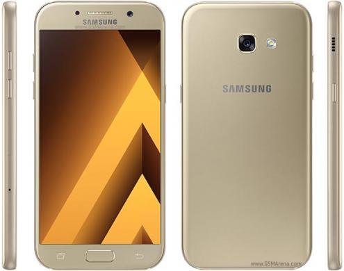 Samsung Galaxy A5 2017, kaip naujas, garantija, komplektas, kaina 99.99e.-0