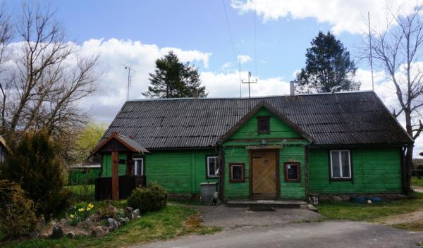 Namas Samanių k. Zarasų r.-0