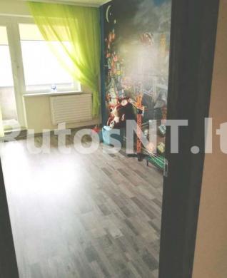 Parduodamas 3-jų kambarių su holu butas Gargžduose, Dariaus ir Girėno gatvėje-4