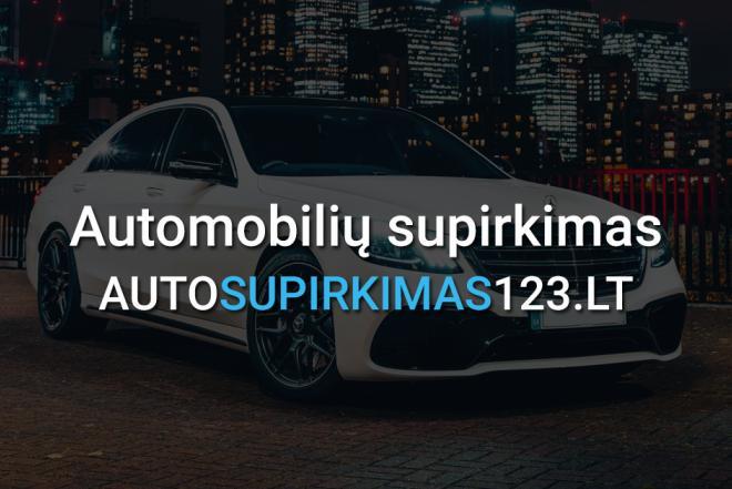 Automobilių supirkimas Vilniuje, Kaune, Klaipėdoje-0