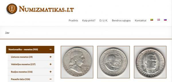 Apsilankykite  monetu parduotuveje Numizmatikas.lt-0