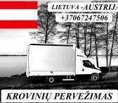 Austrija - Lietuva ! Galime parvežti jūsų krovinius, baldus, buitine technika, motociklus, kubilus, pirtis, įrengimus, medžiagas ir t.t. www.voris.lt info@voris.lt +37067247506 EL.PAŠTAS: ; SKYPE: voris.uab TEL.NR.: +37067247506 ; viber: voris ( +37067247-0