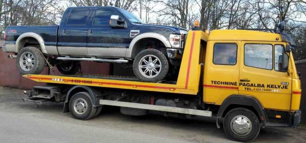 Techninė pagalba kelyje iki 5 tonų,krovinių pervežimas-0