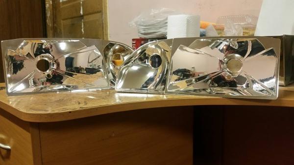Reflektorių restauravimas chromavimas sidabravimas Kaunas-3