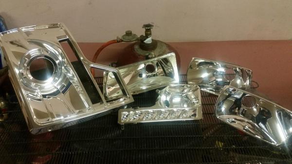 Reflektorių restauravimas chromavimas sidabravimas Kaunas-5