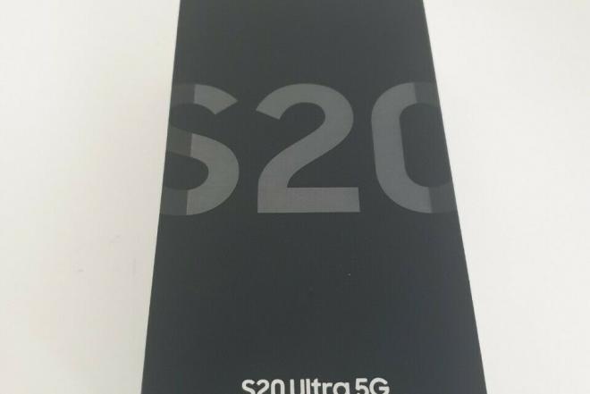 """""""Samsung Galaxy S20 Ultra"""" (5G) G988N 256GB """"Cosmic Grey Snapdragon""""-0"""