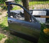 Seat Toledo II (2002), dešinės pusės, priekinės durelės. Tamsiai pilka spalva-0