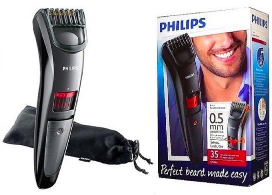 Philips plaukų kirpimo mašinėlės, trimeriai, barzdos ir plaukelių kirpimo, skutimo, formavimo mašinėlė, barzdaskute, kaip naujos, 19.99e. - 29.99e. Belaidės su komplektais.-1