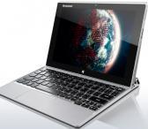 """Lenovo MIIX 2 10 silver, plansetinis kompiuteris, su klaviatūra, gali but nešiojamas kompiuteris, gali plansete, JBL kolonėlės, galingas, tvarkingas, 10.1"""" iš abiejų pusių vartomas ekranas, 64/2gb. 2 kameros, kaina 99.99e.-0"""