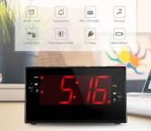 Laikrodis žadintuvas radijo imtuvas-0