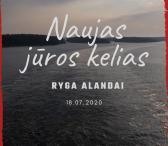 Naujas jūros kelias - Ryga - Alandai-0