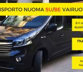 9 vietų mikroautobuso nuoma SU/BE vairuotojo-0