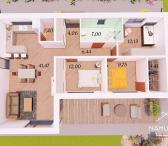 STRATEGIŠKAI PATOGIOJE Klaipėdos rajono dalyje – Klaipedos raj., Mazūriškėse, parduodami 100 kv. m. namai! Puiki galimybė įsigyti namą su valstybės subsidija, bei banko paskola!-0