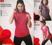 Sportiniai moteriški marškinėliai!-0