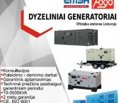 Dyzeliniai generatoriai EMSA/FOGO-0