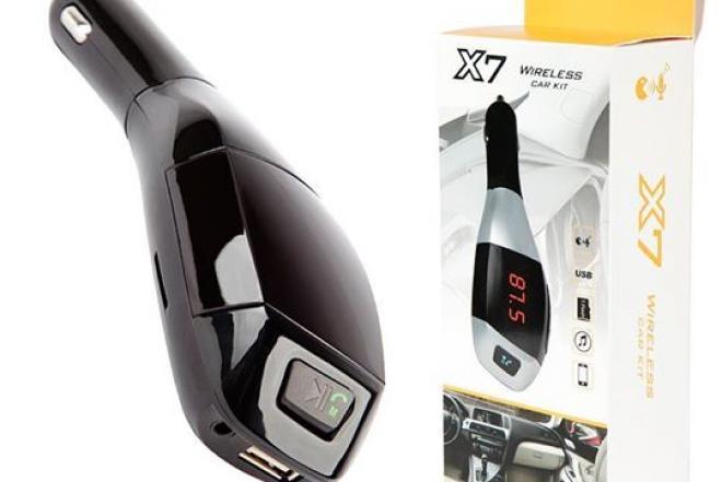 Automobilio FM moduliatorius X7!-0