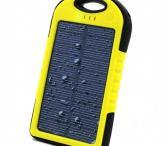 Vandeniui atsparus Power bankas su saulės baterija-0