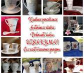 Paauksuoti porceliano gaminiai-0