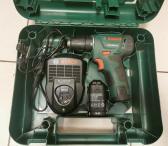 "Akumuliatorinis gręžtuvas/suktuvas ""Bosch PSR 10,8 Li-2""-0"