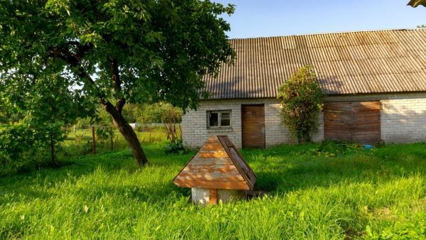 Panevėžio r. sav., Karsakiškio k., Lėvens g., rąstinis namas-2