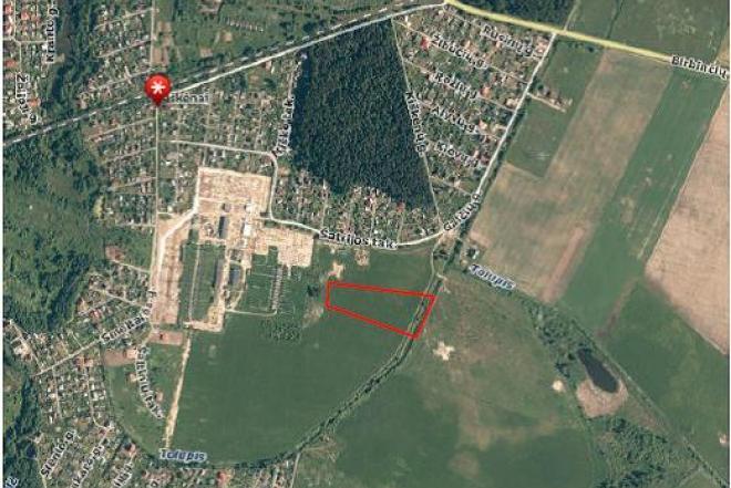 Sklypas 1.83 iki Klaipėdos centro 9km, žemės ūkio paskirties-0