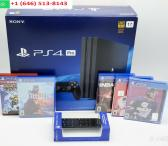 Sony PlayStation 4 Pro 1TB Console with 5 Games and a Remote-0