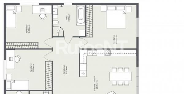 Parduodamas namas Klemiškės II kaime-3