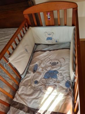 Vaikiška lovytė su čiužiniu-2
