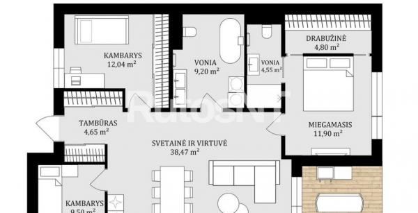 Parduodamas namas Paupiuose-5