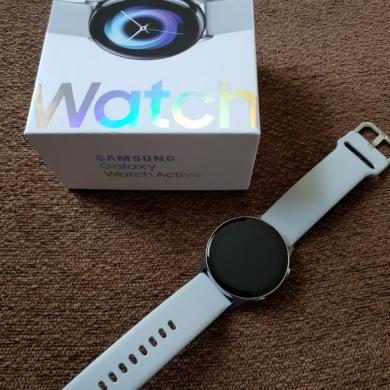 Samsung Galaxy Watch Active ismanus laikrodis, tvarkingas su garantija, komplektas, kaina 99.99e.-0