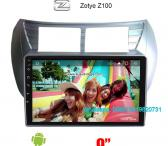 Zotye Z100 Car audio radio update android GPS navigation camera-0