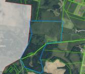 Parduodamas 32 ha žemės ūkio sklypas su rąstine sodyba Vilučių k. Utenos r.-0