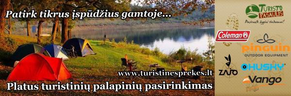 Turizmo bei aktyvaus laisvalaikio prekės, turistinio inventoriaus nuoma www.turistinesprekes.lt-4