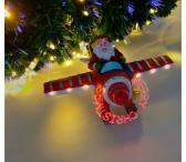 Kalėdinė dekoracija su holograma-0