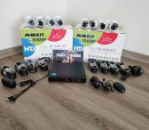 AHD Kameru Komplektas KIT 1080P-0