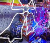 Kalėdinė LED dekoracija Varpeliai-0