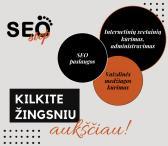 Internetinių svetainių kūrimas, administravimas bei SEO optimizavimas-0