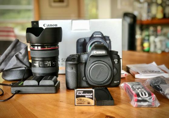 Canon EOS 5D Mark III Strap, BL-5DIII, Battery Charger, Field Guide, Low Shutter-1