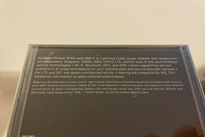 Apple iPhone 12 Pro - 256GB - Silver (Unlocked)-0