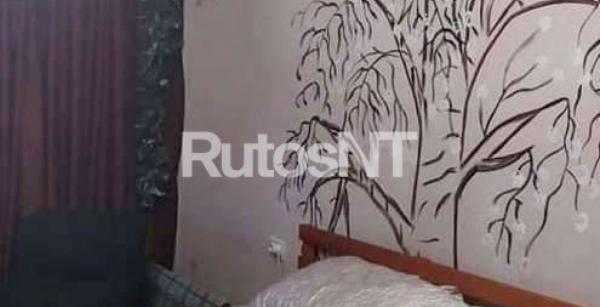 Parduodamas 2-jų kambarių su holu butas Gargžduose, P. Cvirkos gatvėje-4
