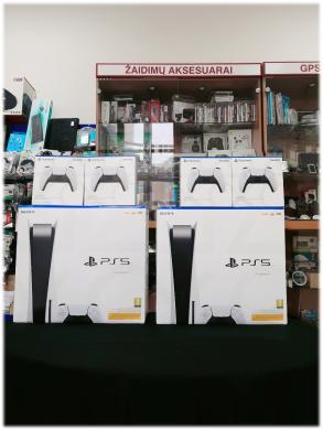 Parduodamos PS5 (naujausi modeliai) dėl kainos teirautis esamais kontaktais-0