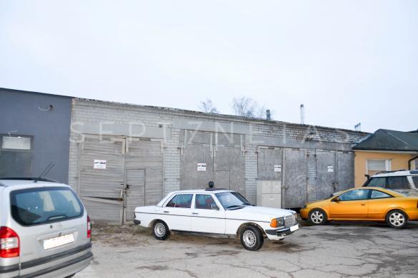 Parduodamas garažas su rekonstrukciniu projektu Palangoje!-1