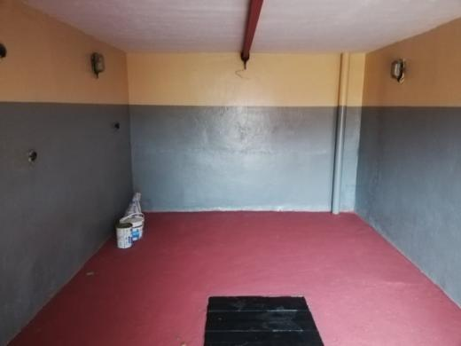 Mūrinis garažas su duobe, elektra, šarvo durys-0
