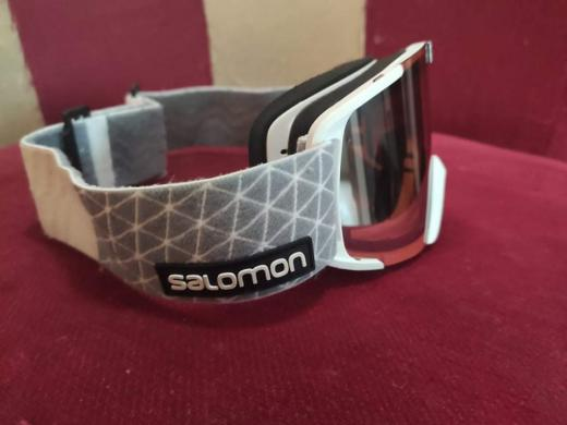 Salomon slidinėjimo akiniai, tvarkingi, kaina 50e.-1