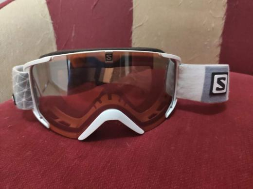 Salomon slidinėjimo akiniai, tvarkingi, kaina 50e.-0