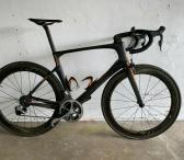 2016 Scott Foil 20 Premium L56cm Dura-Ace Di2 ZIPP 404 Carbon Road Bike-0