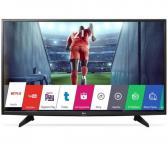 """LG Smart Full hd slim led TV, 43"""" 108cm, WiFi, smart share ir kt. Tvarkingas, kaina 249.99e. Su originaliu smart tv pulteliu, yra galimybė atvezti už papildomą kainą.-0"""