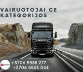 Tolimųjų reisų vairuotojai / Skandinavija-0